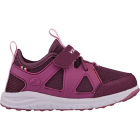 Viking Footwear Moholt Shoes Barn bordeaux/pink